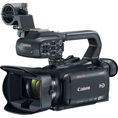 and camcorder canon xa35 professional camcorder 1003c002 b h photo