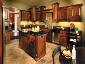 wall paint colors for kitchen - kitchen paint colors with dark brown wooden cabinets kitchen paint and wooden floor and white