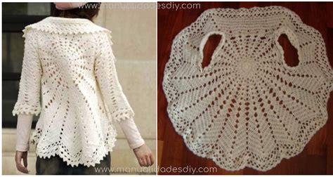 chaleco redondo crochet patron a tejido crochet y artesanas chaleco redondo nuevo modelo
