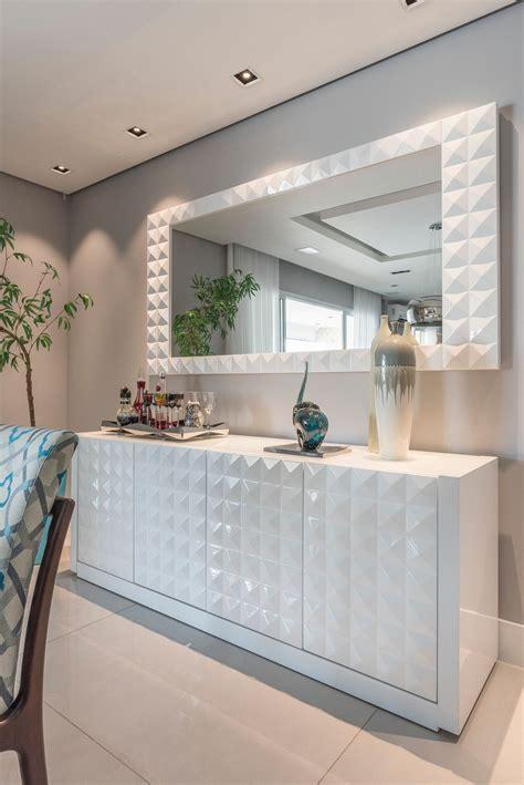 aparador grande para sala aparador branco textura 3d na sala de jantar m 243 veis