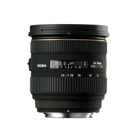 sigma 24 70mm f 2 8 ex dg hsm interchangeable lens review