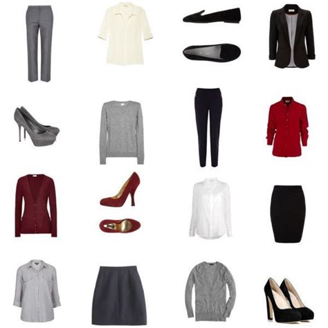 Capsule Office Wardrobe by Pin By Thayne On Fashion