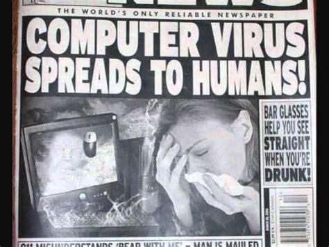 Virus Memes - microsoft sam reads stupid news headlines youtube