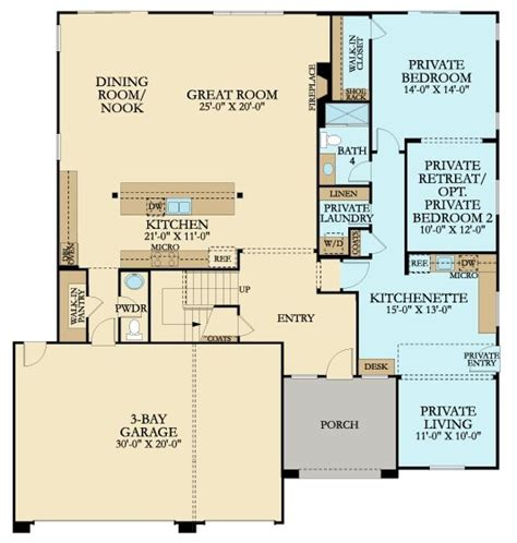 Lennar Next Gen Floor Plans | 4121 next gen by lennar new home plan in mill creek