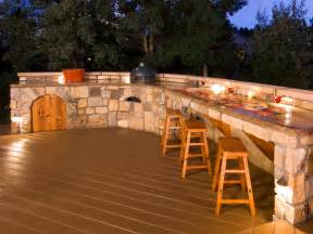 outdoor bars options and ideas hgtv - Backyard Bar Designs