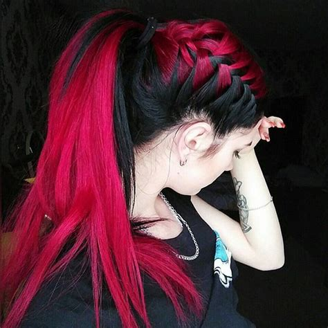 hairstyles black and red hair 1557 best images about rockabilly hairstyles and colors