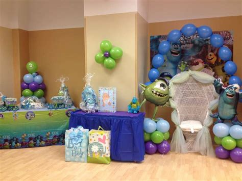 monsters inc decorations for baby shower monsters inc baby shower ideas photo 1 of 14