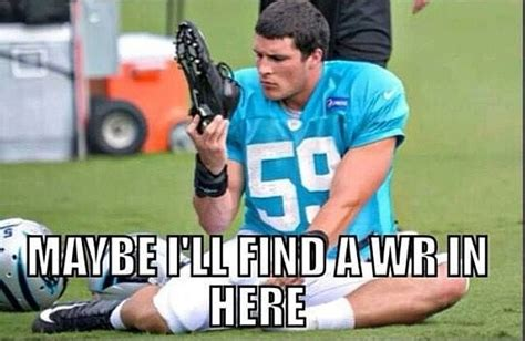 Luke Kuechly Meme - i laughed way harder at this than i should have