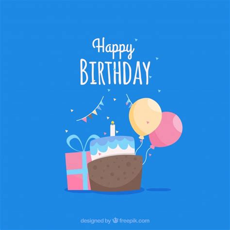 Happy Birthday Card Template Free by Happy Birthday Card Template Vector Free