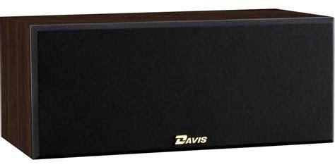 davis acoustics sacha noyer enceintes centrales sur