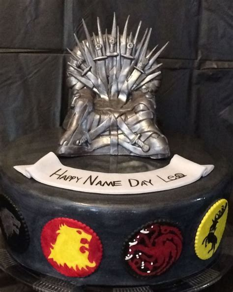 game thrones birthday cake cakecentral