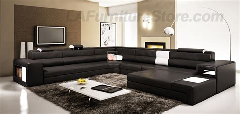 Modern Sofas For Living Room The Use Of Black Furniture In Decorating Your Living Room La Furniture