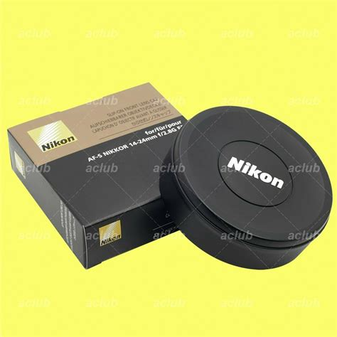 genuine nikon slip on front lens cap cover for nikkor af s 14 24mm f 2 8g ed ebay
