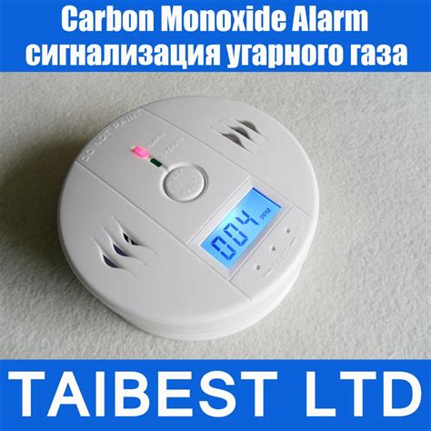 home security safety co gas carbon monoxide alarm detector