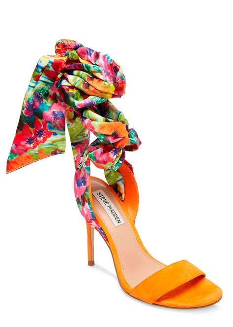 Steve Madden Oasis Orange Multi by Steve Madden Oasis In Orange Multi Venus