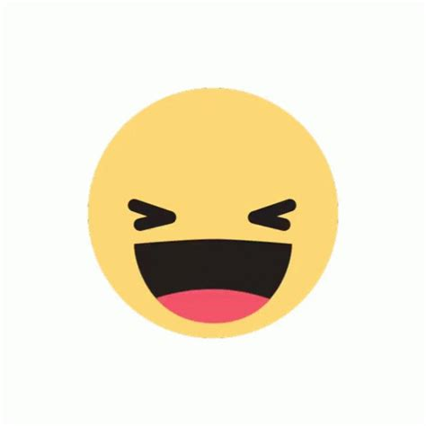 fb reacts emoji laughing gif emoji laughing discover share gifs