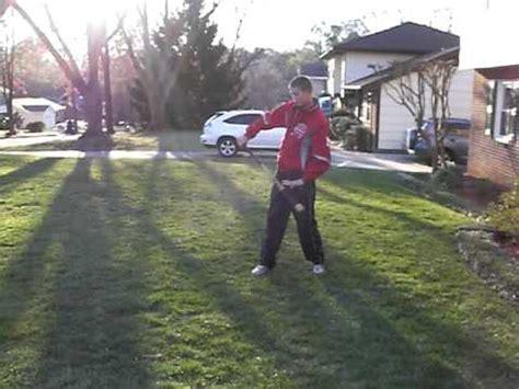 bat swing trick a baseball coaches fungo bat it s easy to swing doovi