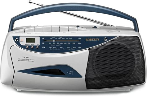 cassette radio player radio cassette player silver