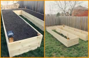 above ground garden bed how to build raised garden bed