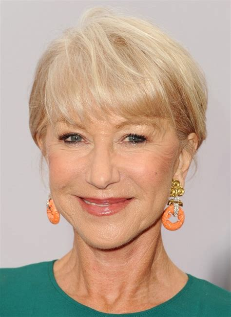 short hairstyles 2014 over 60 with high and low lights 2014 helen mirren s short hairstyles short hair for women