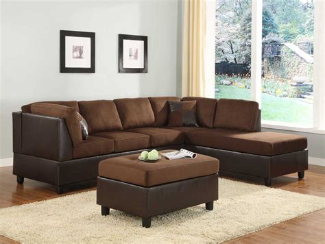 Chocolate Sectional Sofa Comfort Living Chocolate Sectional Sofa Sectional Sofas He 9909ch 3 9909ch 5 8