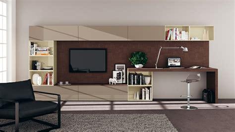schreibtische im wohnzimmer wohnzimmer einrichtungsideen im minimalistischen stil