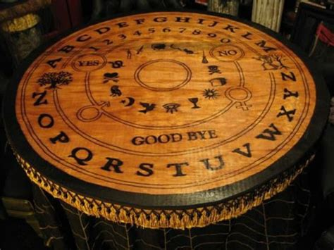 Ouija Board Table by Don T Play It Alone 16 Ouija Board Inspired Tables