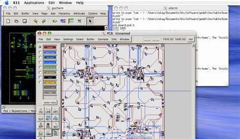 laying out printed circuit boards with open source tools