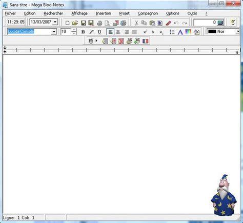 telecharger un bloc note pour le bureau t 233 l 233 charger mega bloc notes pour windows t 233 l 233 chargement