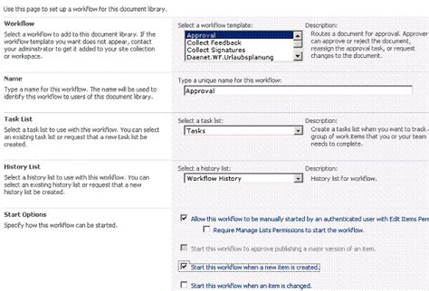 sharepoint 2007 approval workflow how to start approval workflow with moss 2007 zeljko