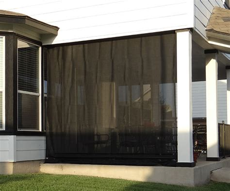 patio sun shades which materials can you use ebay patio enclosures for restaurants and bars that roll up