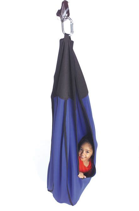 swing for autistic child cuddle swing sensory processing disorder pinterest