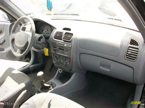 Hyundai Accent 2000 Interior by 2000 Black Hyundai Accent L Coupe 25920547 Photo