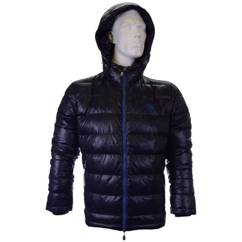 Jaket Parka Tipe A Polos Navy u s polo assn hoody puffer navy jacket u s polo assn from n22 menswear uk