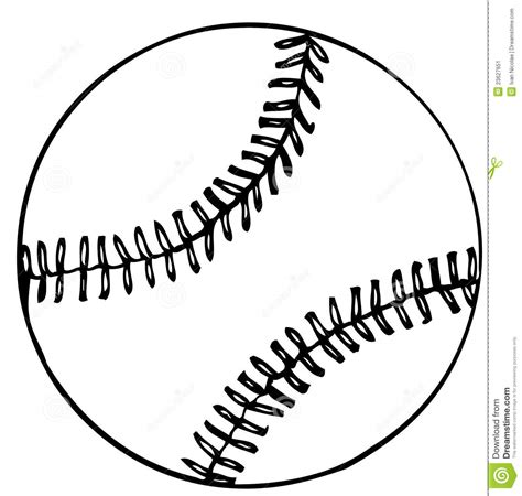 coloring page for baseball baseball ball vector clipart panda free clipart images