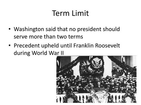 The President May Serve A Maximum Of Terms In Office by Ppt America Grows Up Powerpoint Presentation Id 2669635