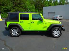 Jeep Wrangler Unlimited Gecko Green Gecko Green 2012 Jeep Wrangler Unlimited Sport S 4x4