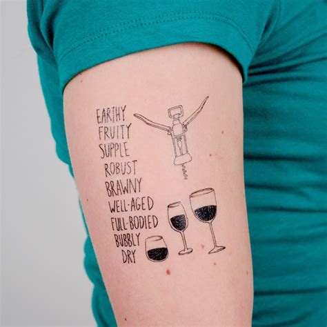 11 of the coolest wine themed tattoos vinepair