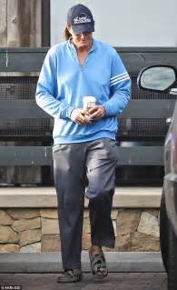 bruce jenner makes style statement with nail polish long hair bruce jenner 65 makes yet another style statement with