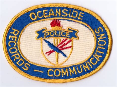 Oceanside Arrest Records California Patches For Sale Trade K O Dan S California Badges And