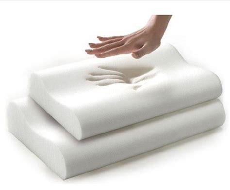 moulded visco elastic memory foam pillow buy memory foam