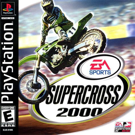 ama motocross game play supercross 2000 sony playstation online play retro