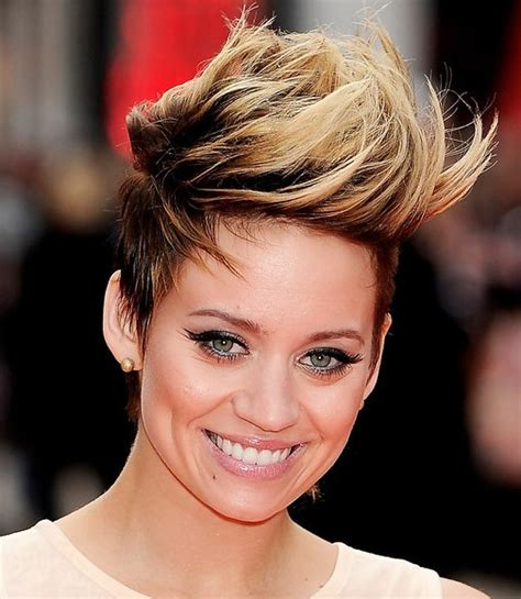 Faux Hawk Hairstyle by Jelly Jennie Faux Hawk Hairstyles For Hairstyles