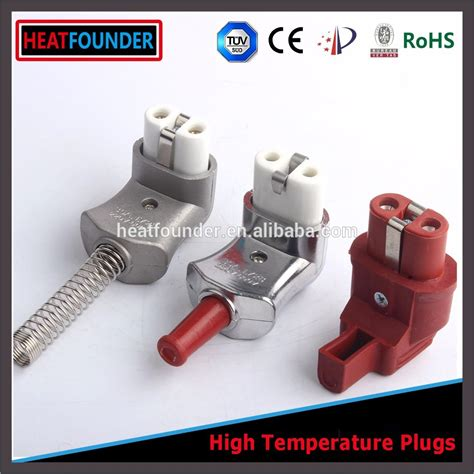 what kind of heat l for bearded heatfounder l type ceramic high temperature power plug