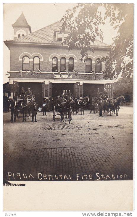 Superb Churches In Piqua Ohio #2: 1b8d62e26d2760b7271c93c4776b94df--horse-drawn-wagon-fire-equipment.jpg