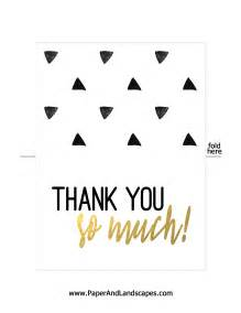 free printable thank you cards paper and landscapes