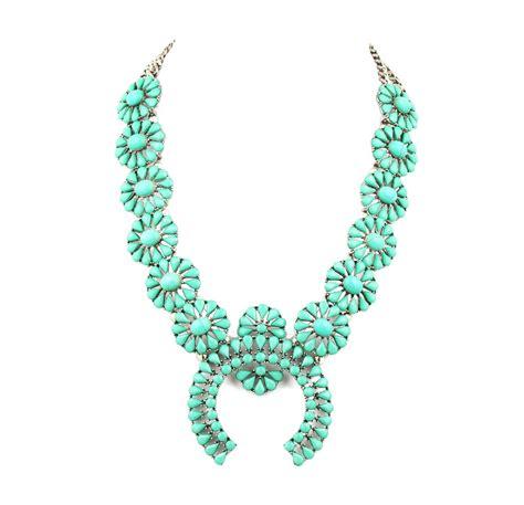high quality squash blossom necklace design