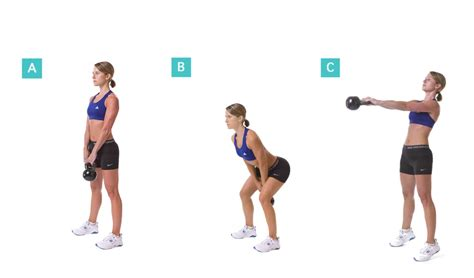 kettlebell swings cardio how to perform ketttlebell russian swings
