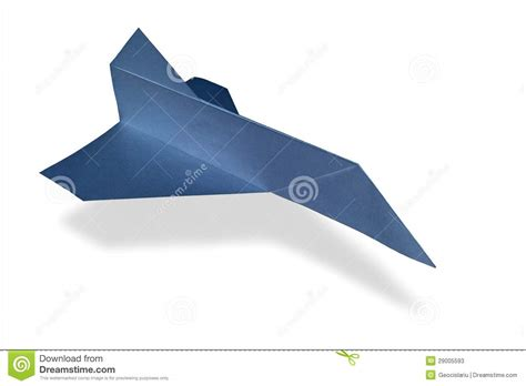 3d Origami Airplane - origami airplane space shuttle stock photos image 29005593