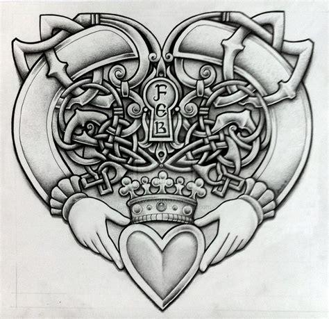 irish claddagh tattoo designs celtic claddagh by design on deviantart